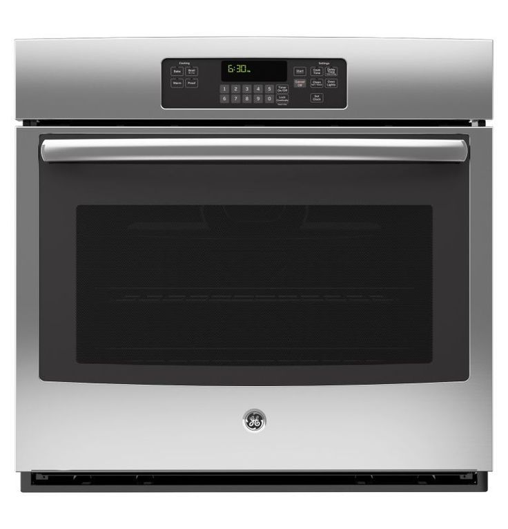 GE JT3000 5.0 Cu. Ft. Built-In Single Electric Oven with Self-Clean and Digital Stainless Steel Ovens Electric Single