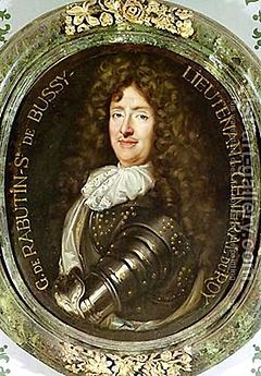 Roger de Rabutin, Comte de Bussy-- (04/1618-04/1693), commonly known as Bussy-Rabutin, was a French memoirist. He was the cousin and frequent correspondent of Madame de Sévigné. Born at Epiry, near Autun, he represented a family of distinction in Burgundy, and his father, Léonor de Rabutin, was lieutenant general of the province of Nivernais.