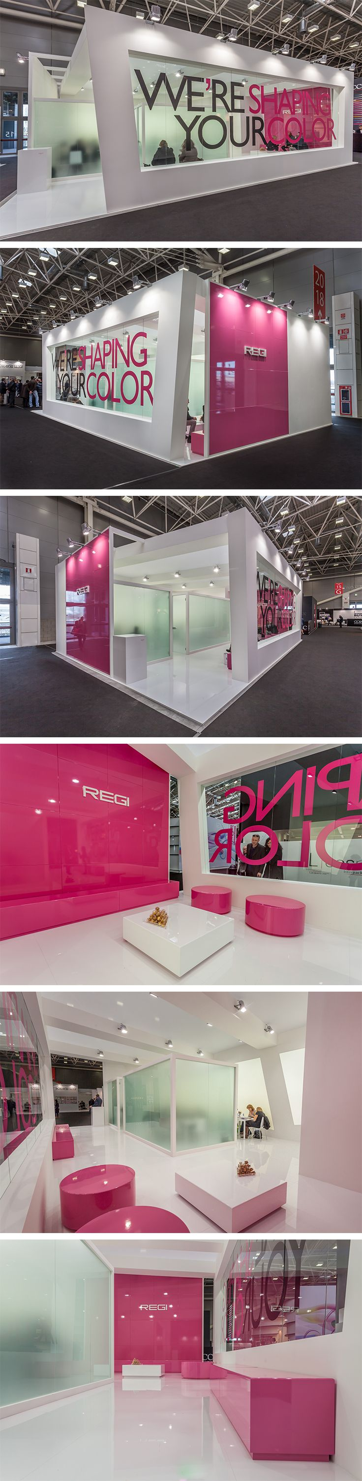 Exhibition Stand @ Cosmopack Stand Design: Xilos Temporary Architecture Stand…