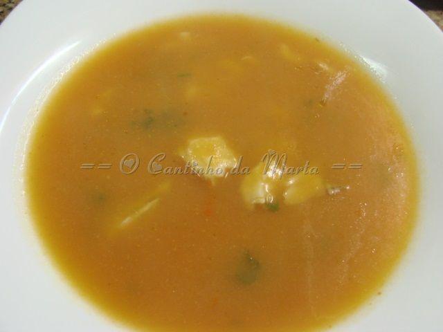 Sopa de Red Fish com Massas - Companion