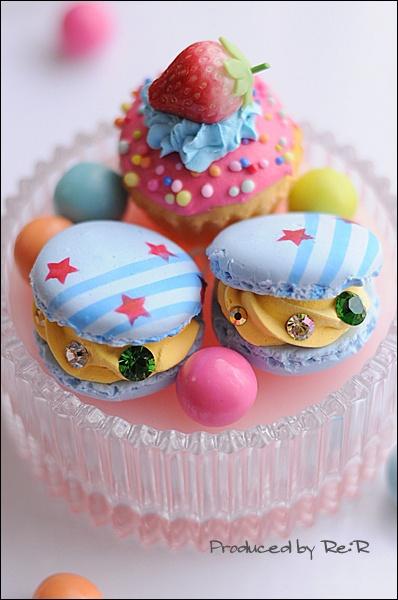 Glamourous macarons