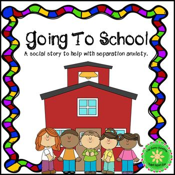 The separation anxiety is real for students. This resource is a 12 page social story which focuses on the fact that students MUST come to school and offers some strategies to help them cope while in school. This product is also part of this bundle, which contains other resources to help with separation anxiety:  Separation Anxiety Solver Bundle  You may also be interested in:  Calming Strategies  and   Calming Strategies: Coping Skills Task CardsLet's stay connected!