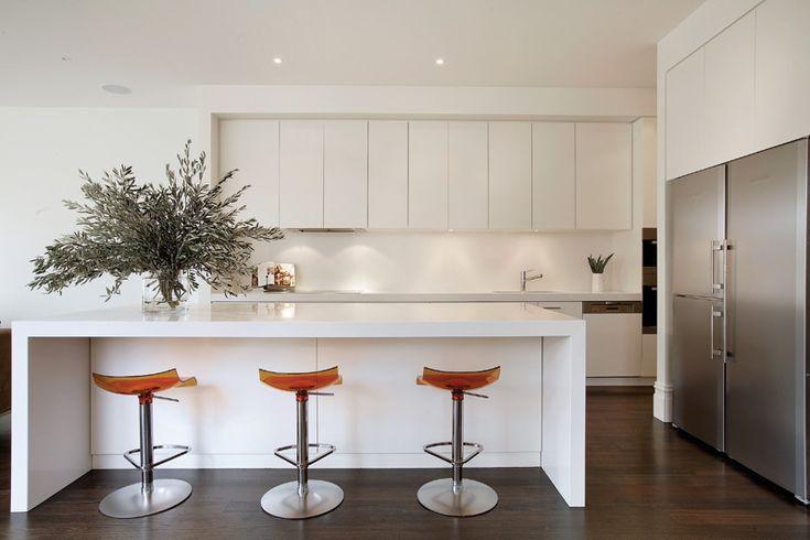 #kitchen #white kitchen, Jo McIntyre, caesar stone snow