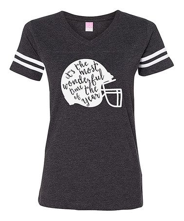 Loving this Vintage Smoke 'It's The Most Wonderful Time' Football Tee on #zulily! #zulilyfinds