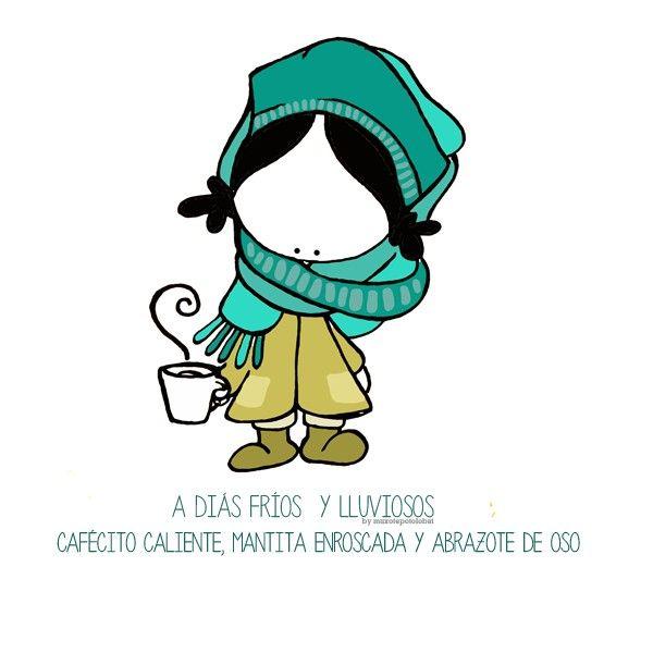 Brrrr... fríoooooo. Me enrollaré una manta, café caliente y... ¡bienvenidos todos los abracitoooo, apapachos y achuchones varios! Eeeegunon mundo!! ::: Hotza+euria+igandea=mantita, kafe beroa eta etxean goxo goxo