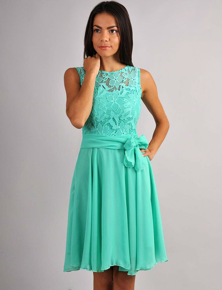 Aqua Green Bridesmaid Dress StraplessChiffon Aqua by FashionDress8, $46.00