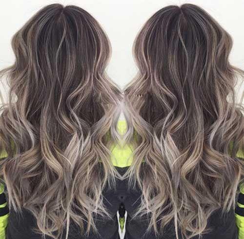 17.Long Dark Blonde Hairstyle