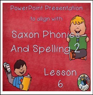 "FREE LANGUAGE ARTS LESSON - ""Saxon Phonics and Spelling Grade 2 Lessons 6 PowerPoint (Second Grade)"" - Go to The Best of Teacher Entrepreneurs for this and hundreds of free lessons. 2nd Grade  http://www.thebestofteacherentrepreneurs.net/2016/12/free-language-arts-lesson-saxon-phonics.html"