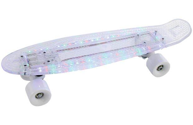 """Bored XLI Light Up Cruiser Skateboard: Light Up Cruiser skateboard! 57cm x 15cm (22.5"""" x 6"""") injection… #UKOnlineShopping #UKShopping"""