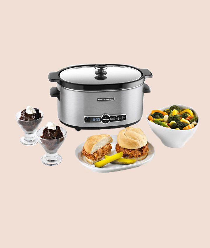 Kitchenaid 6 quart stainless steel slow cooker ksc6223ss