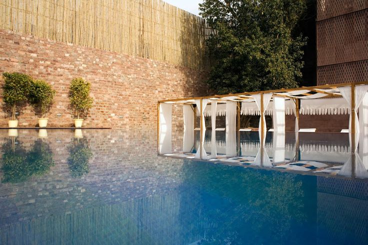 A relaxing pool at #Raas in #Jodhpur #Rajasthan can calm your mind and is great for a dip! A perfect #RareIndia #DelhiGetaway!     #Explore More: http://bit.ly/1qNsvKP