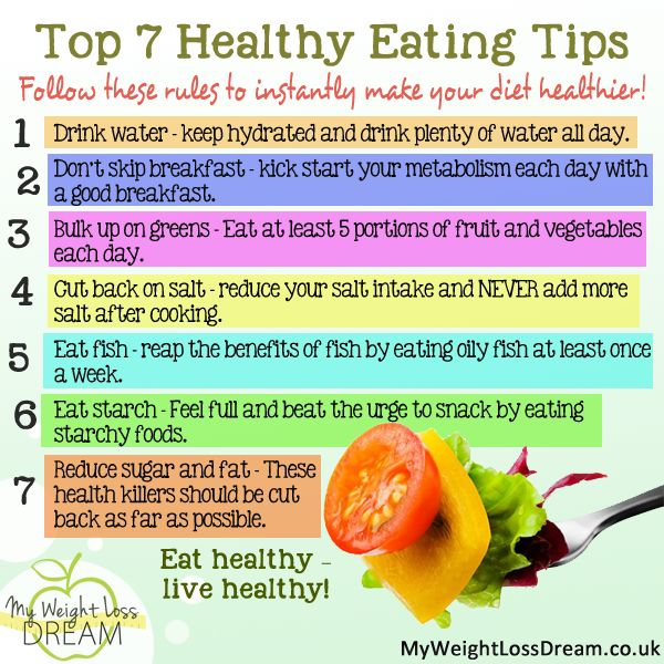 Here is my top 7 healthy eating tips #weightloss # ...