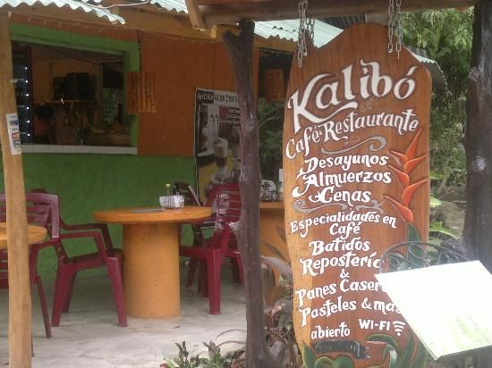 Kalibo restaurant in Montezuma, Costa Rica - for breakfast