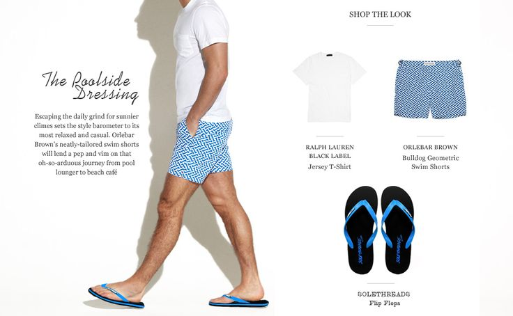 Get that classic look At Poolside in these solethreads Flat FlipFlops.