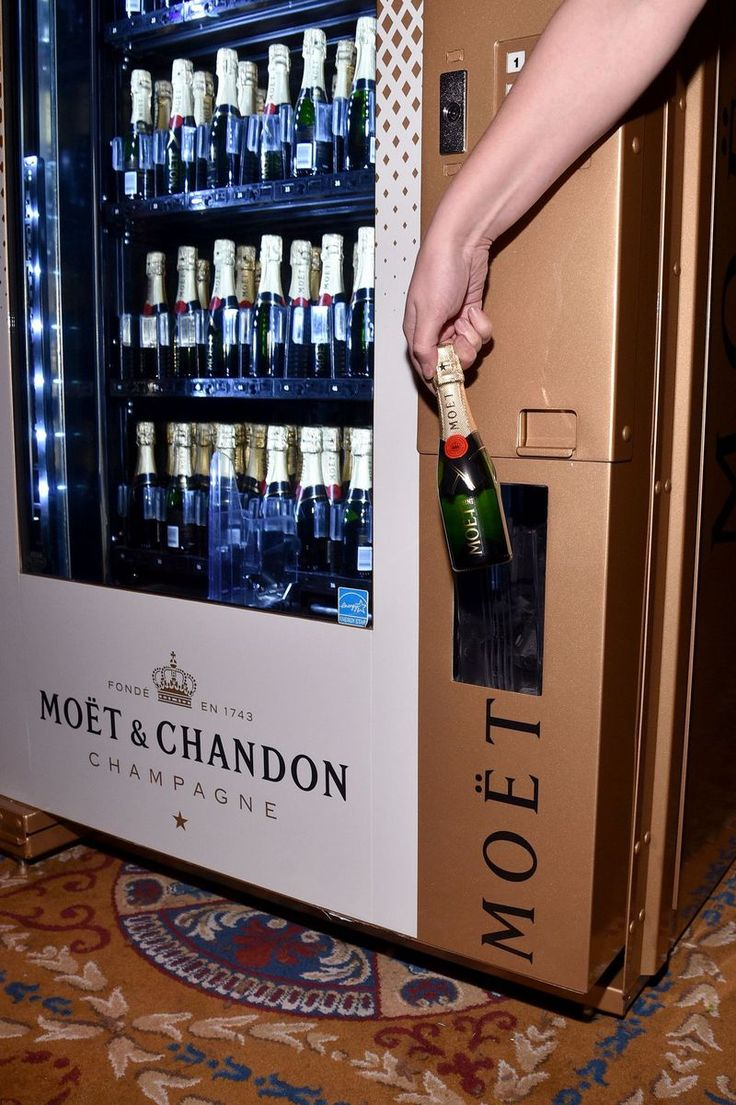 Moët & Chandon Champagne Vending Machine