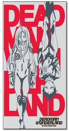Crunchyroll - Store - Deadman Wonderland Ganta & Shiro Towel