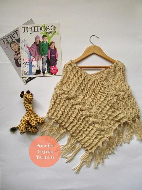 poncho de lana pura | Flickr: Intercambio de fotos
