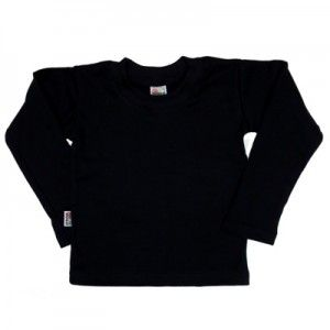T-shirt enfant noir manches longues http://simedio.fr