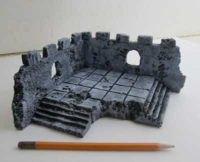 Corner Unit Dungeon Tile