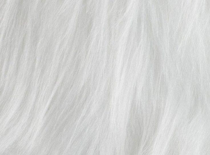 Włochacz, Sztuczne futro biały, 100.168-5003,  w tkaniny-hemmers.pl
