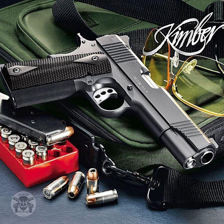 Manufacturer: Kimber Mod. Custom TLE 2 Type - Tipo: Pistol Caliber - Calibre: 45ACP Capacity - Capacidade: 7 Rds Barrel length - Comp.Cano: 5 Weight - Peso: 38...