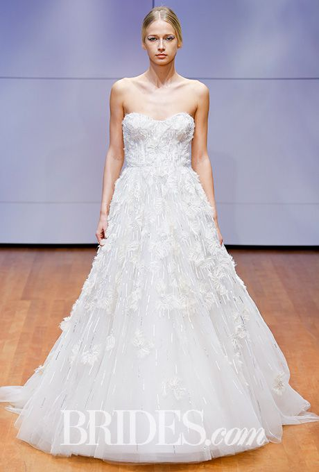 Brides.com: . Ball gown covered in morning frost dew, Rivini by Rita Vinieris