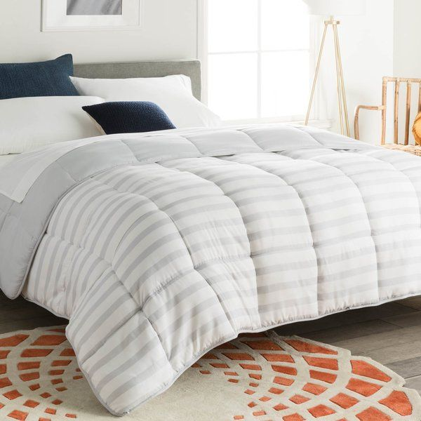 This Down Alternative Comforter Features Ultra Soft