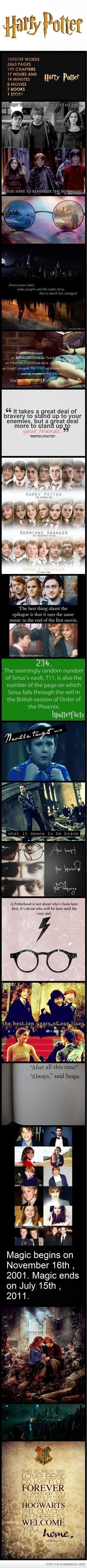 I don't care how nerdy this is... I love Harry Potter.