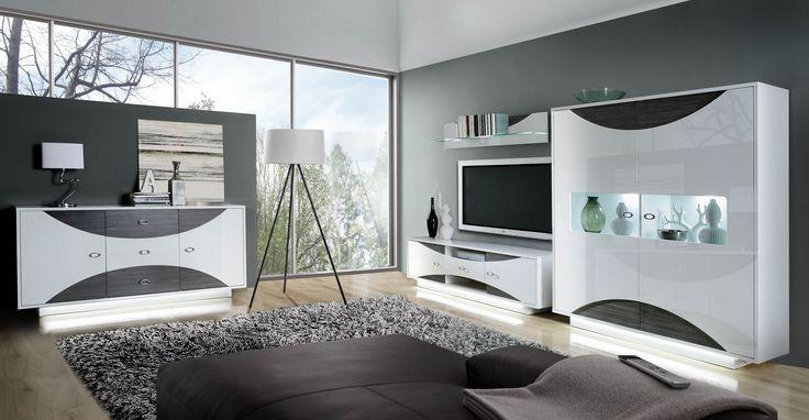 Tv wand weiß hochglanz  Die besten 20+ Sideboard weiss hochglanz Ideen auf Pinterest | Lcd ...