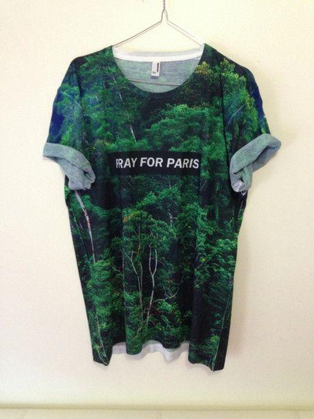 Pray for paris forest