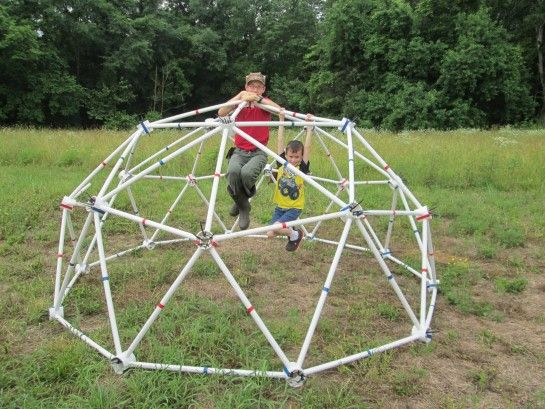 13' 2v Standard Geodesic Dome Greenhouse Kit for Sale - by Zip Tie Domes