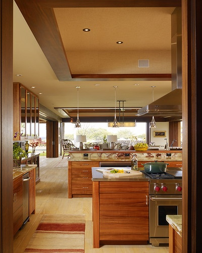 Hawaii Residence Tropical Kitchen