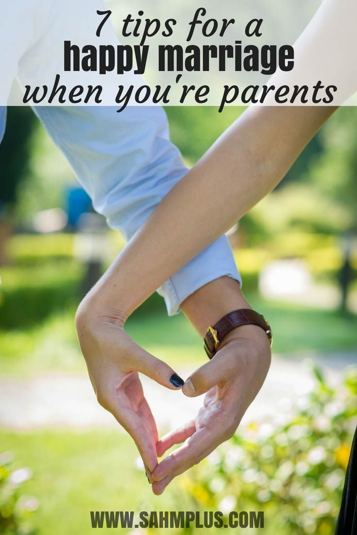 Your marriage has changed as parents, but that doesn't mean you don't have time for continuing to make it good. 7 best tips for a happy marriage as parents. #marriage #love #relationships #parents #family
