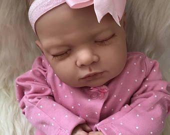 Brand New Reborn Lotty Child Friendly Realistic Newborn Fake Baby Doll Girl