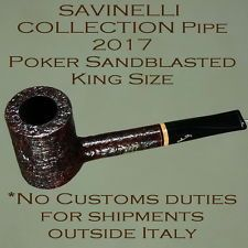 Savinelli Collection Poker Pipe