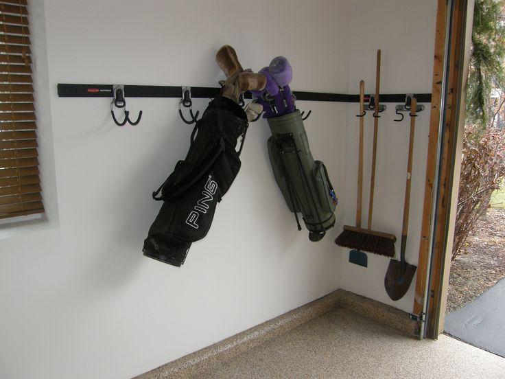 Garage Accessories - Golf Club Storage