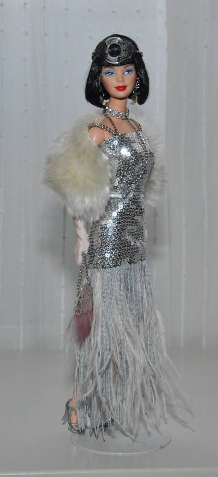 Barbie 1920's flapper style