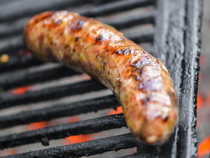 Greek loukaniko with orange and leeks is a brightly flavored sausage that's perfect for summer grilling.
