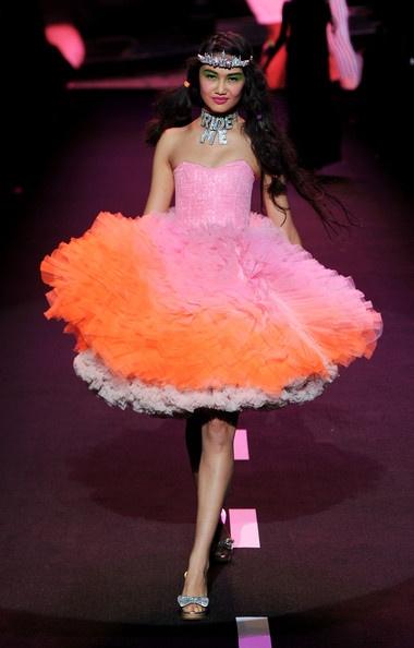betsey johnson: Things Fashion, Favorite Colors, Tutu, Fashion Week, Runway, Betsey Johnson Lov, Poufi Dresses, Johnson Dresses, Betsey Johnson Crazy
