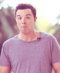 seth macfarlane funny | About this Spot: Seth MacFarlane and Making Funny Faces.