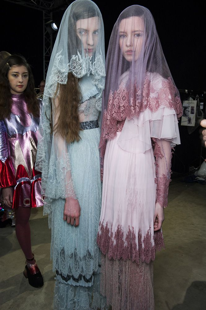 Meadham Kirchhoff AW14. off color veils