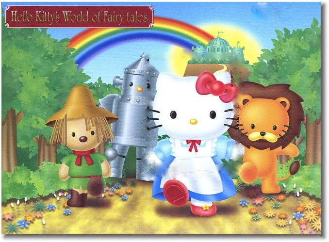 Hello Kitty Wizard Of Oz Pinterest