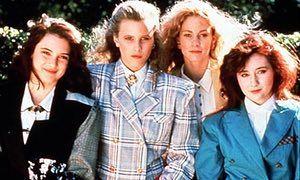 Winona Ryder, Kim Walker, Lisanne Falk and Shannen Doherty in Heathers