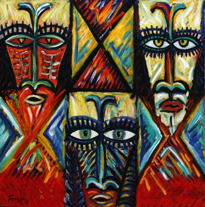 Orator, Acrylic on canvas, 21014