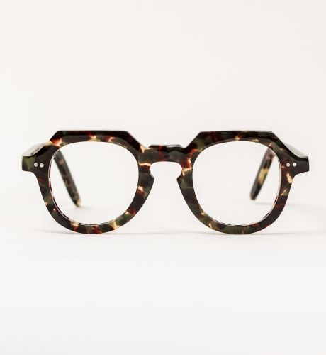 The Metz - 40's inspired modern glasses, constructed from the very best components and finest vintage Italian acetates. Available from General eyewear #glasses #opticals #boutique