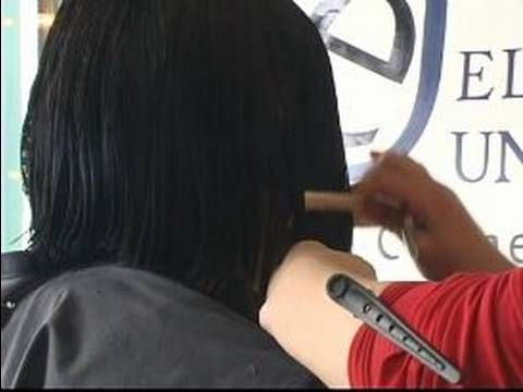 how to cut your hair into a bob
