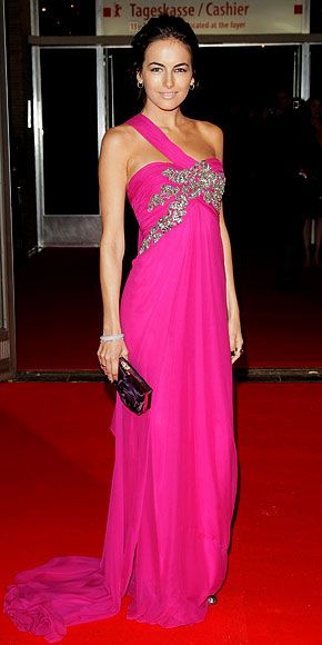 Camilla Belle in Marchesa at the Berlin Film Festival, February 2010