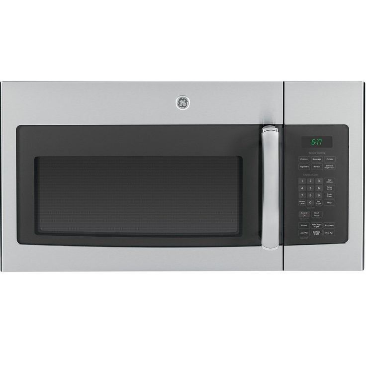 GE 1.6-Cubic ft Over-The-Range Microwave (Stainless Steel)