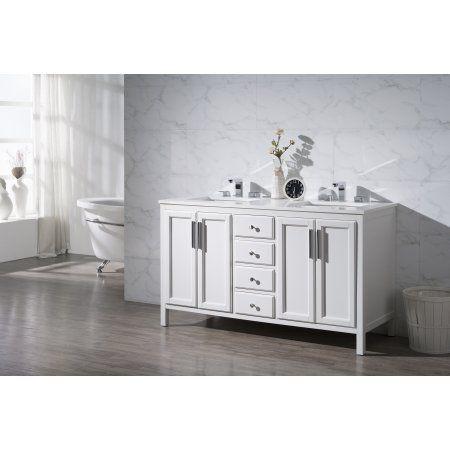 Emily 59 Inch Double Sink Bathroom Vanity