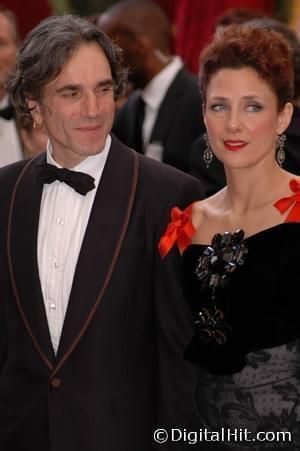 Daniel Day-Lewis and Rebecca Miller at the 80th Annual Academy Awards.